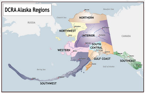Alaska And Israel Hebrew Nations - Biggest state in usa